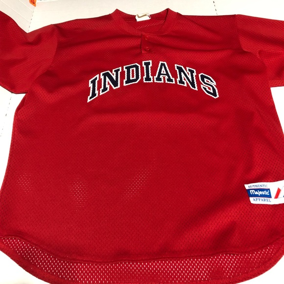 Majestic Other - Vintage Cleveland Indians Majestic Mens XL Jersey